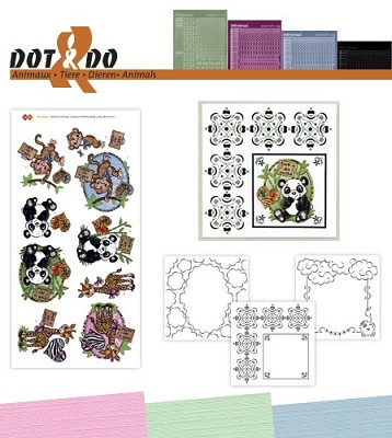 Hobbydots - Dot en Do Set - Yvonne Creations - Dieren - Dodo-030