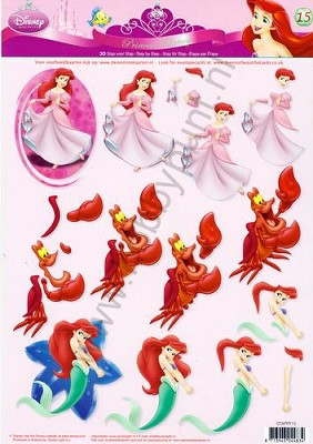 3D Knipvel - Studiolight - Disney Princess Fantasy - STAPPF15