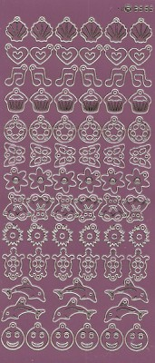 Charm / Bedel Stickers - Mirror Candy - 3565 (stch013)