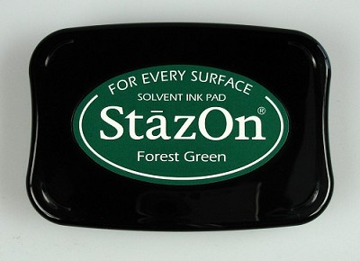 Stempelkussen - Stazon Ink pad Forest green - SZ-000-099