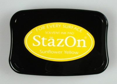 Stempelkussen - Ink pad Sunflower yellow - SZ-000-093