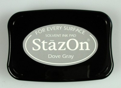 Stempelkussen - Stazon Ink pad dove gray - SZ-000-033