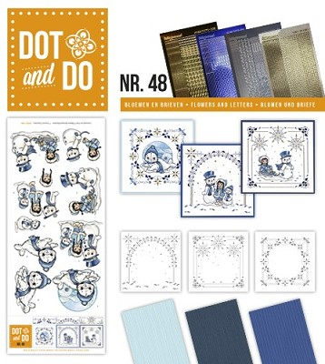Hobbydots - Dot en Do Set - Amy Design - Playful Winter - Dodo-048