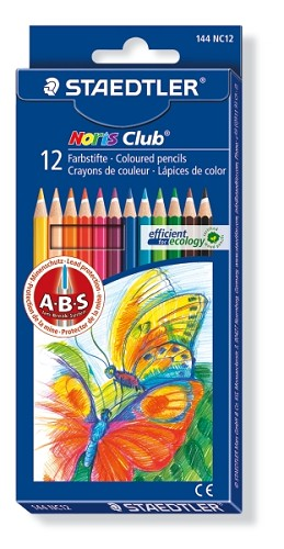 Noris Club aquarell potloden - Staedtler - Set 12 st