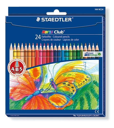Noris Club aquarell potloden - Staedtler - Set 24 st