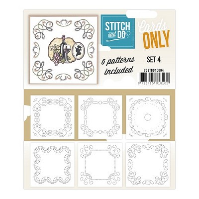 Stitch & Do - Cards Only - Set 4 - COSTDO10004