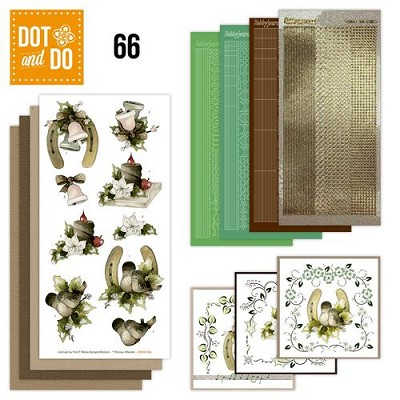 Hobbydots - Dot en Do Set 66 - Marieke - Christmas decoration - Dodo-066