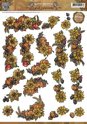3D Knipvel - Yvonne Creations - Fall Favourites - Seasonal Fruit - CD10558