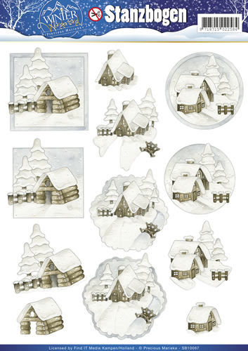 3D Pushout - Precious Marieke - Winter Wonderland - SB10067