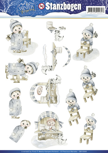 3D Pushout - Precious Marieke - Winter Wonderland - SB10069