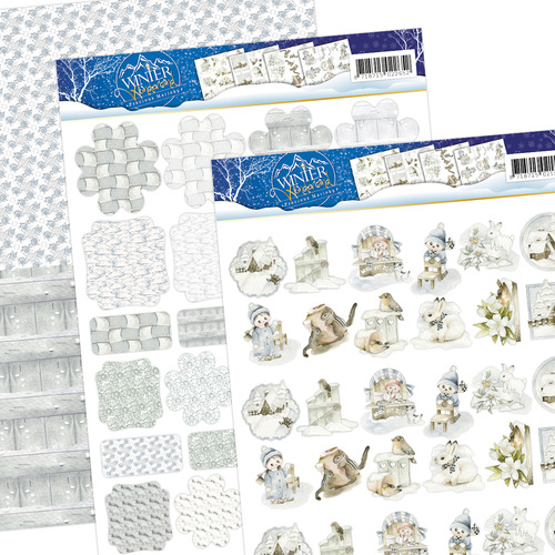 Precious Marieke - Winter Wonderland - Mini`s & Labels - Pmmin10002