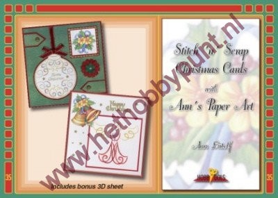 Hobbydols 35 - Ann Lütolf - Christmas Cards with Ann`s Paper Art