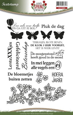 Clearstamp - Amy Design - Spring - ADCS10004