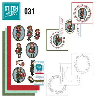 Stitch and Do Set 31 - Beterschap - Amy Design - Stdo031