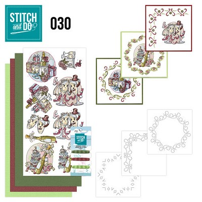 Stitch and Do 30 - Celebrations - Yvonne Creations - Stdo030