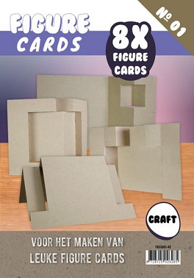 Figure Cards - Boek 1 - Craft - FGCS001-45