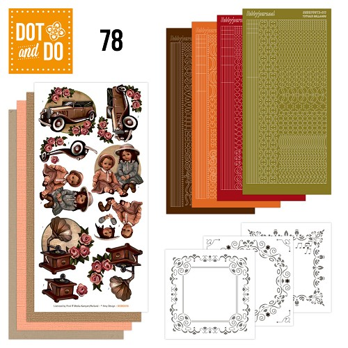Hobbydots - Dot and Do 78 - Vintage - Amy Design - Dodo078