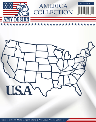 Die - Amy Design - America Collection - USA - USAD10001