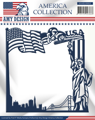 Die - Amy Design - America Collection - America Frame - USAD10002