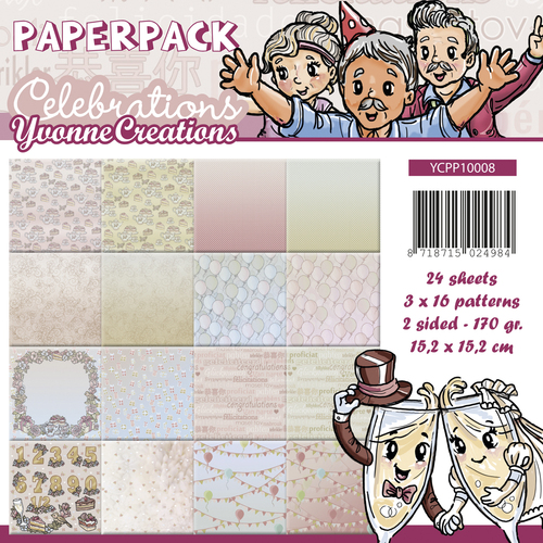 Paperpack - Yvonne Creations - Celebrations - YCPP10008