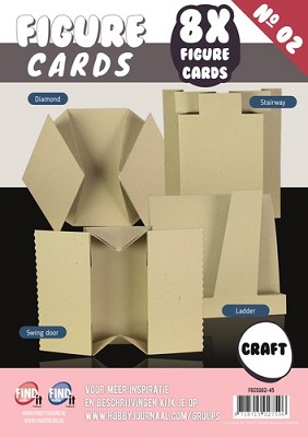 Figure Cards - Boek 2 - Craft (Cappucino) - FGCS002-45