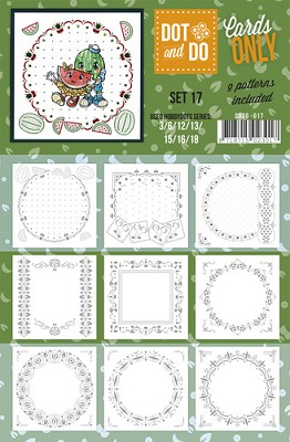 Hobbydots - Dot & Do - Cards Only - Oplegkaarten - Set 17