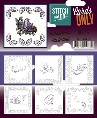 Stitch & Do - Cards Only - Set 15 - COSTDO10015