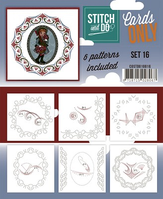 Stitch & Do - Cards Only - Set 16 - COSTDO10016