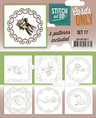 Stitch & Do - Cards Only - Set 17 - COSTDO10017