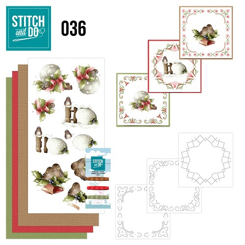 Stitch and Do 36 - Kerstversieringen - Precious Marieke