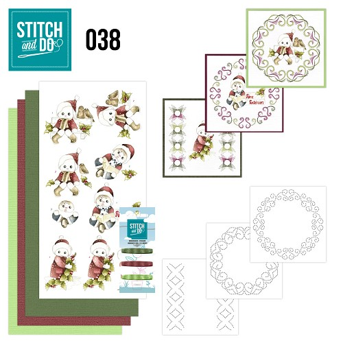 Stitch and Do 38 - Christmas Children - Precious Marieke - Stdo038