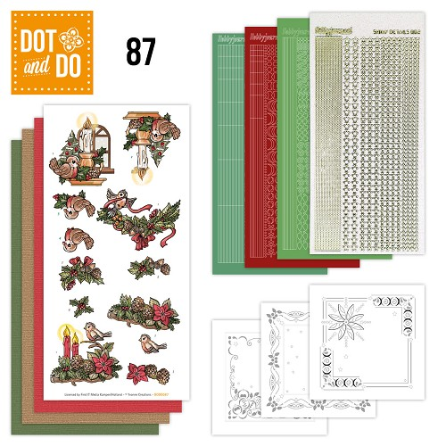 Dot and Do 87 - Kerstsfeer - Yvonne Creations - Dodo087