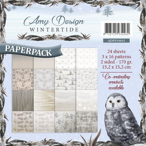 Paperpack - Amy Design - Wintertide - ADPP10015