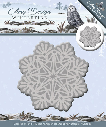 Die - Amy Design - Wintertide - Ice Crystal - ADD10081