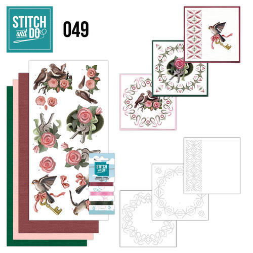 Stitch and Do 49 -  Verhuizen - Amy Design - Stdo049
