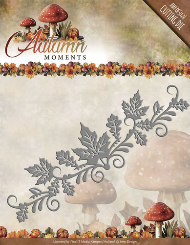 Die - Amy Design - Autumn Moments - Leaves Border - ADD10074
