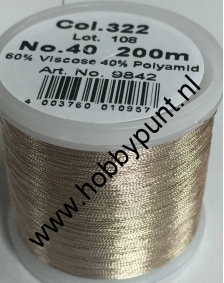 Madeira Metallic 40 - Gold Dust - 200 meter - Kleur: 9842-322