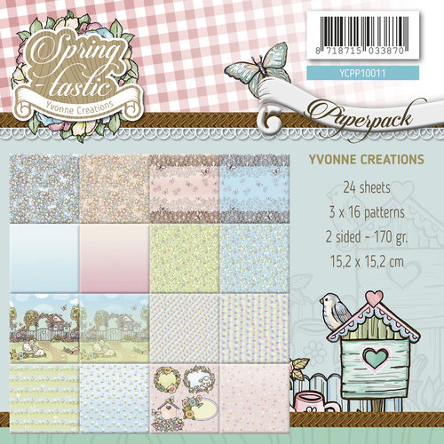 Paperpack - Yvonne Creations - Spring-tastic - YCPP10011