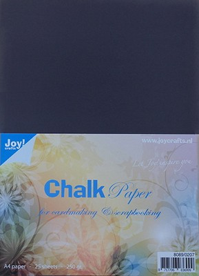 Krijtpapier (Chalkpaper) A4 - Joy Crafts - 8089/0207