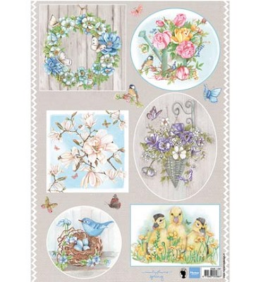 Knipvel - Marianne Design - Country Flowers 1 - EWK1247