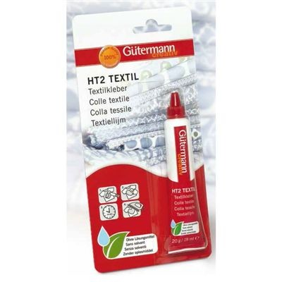 Gütermann Textiellijm HT2 - Tube 20 gr - 19 ml
