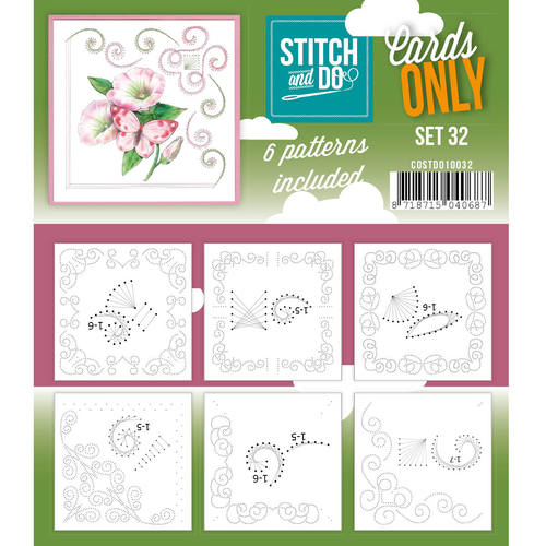 Stitch & Do - Cards only - Set 32 - Costdo10032