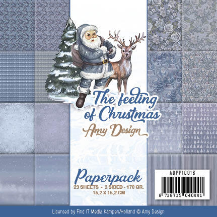 Paperpack - Amy Design - The feeling of Christmas - ADPP10018