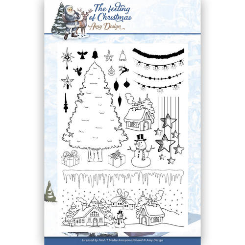 Clear Stamp - Amy Design - The Feeling of Christmas - ADCS10019