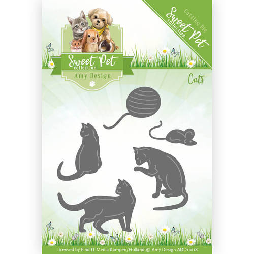 Die - Amy Design - Sweet Pet - Cats - ADD10118