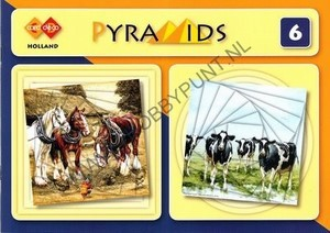 Card Deco Pyramids 6 - Holland