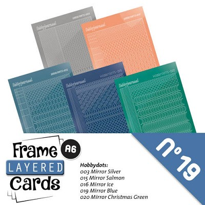 Stickerset Layered Frame Cards 19 - LCST019