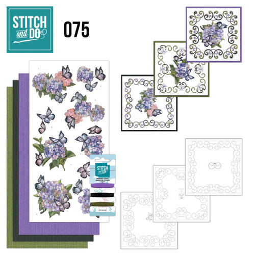 Stitch and Do 75 - Amy Design - Hortensia - Stdo075