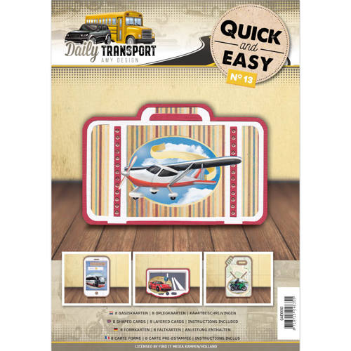 Quick and Easy 13 - Amy Design - Daily Transport - QAE10013