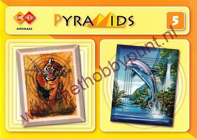 Card Deco Pyramids 5 - Animals